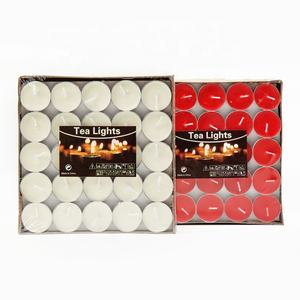 Factory Birthday Wedding 50 Pieces TALENT FAREAST Fragrance-Free Tea Light Candle