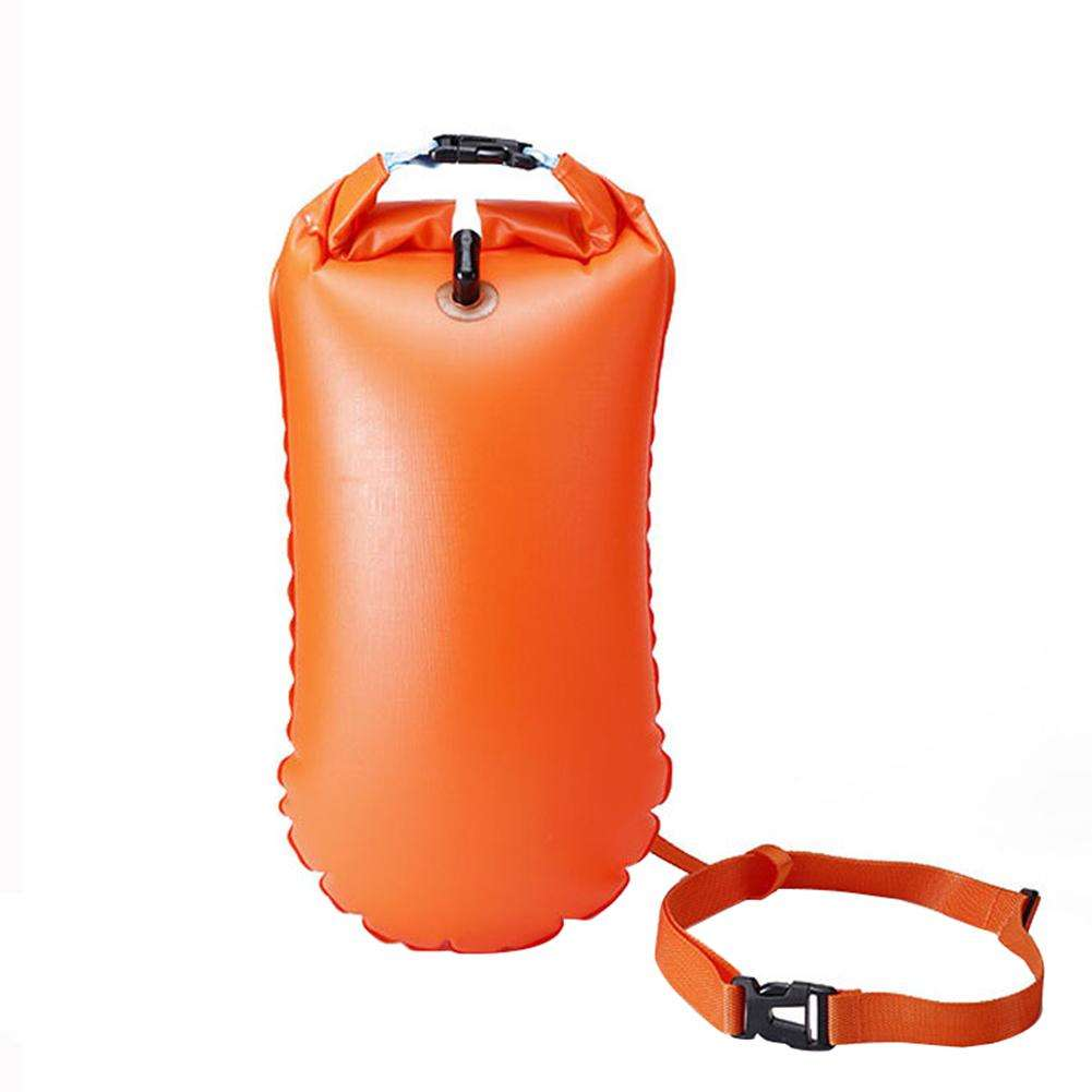 Outdoor Swimming Safety Buoy Drift Bag Swim Float Waterproof Open Water Hiking Equipment