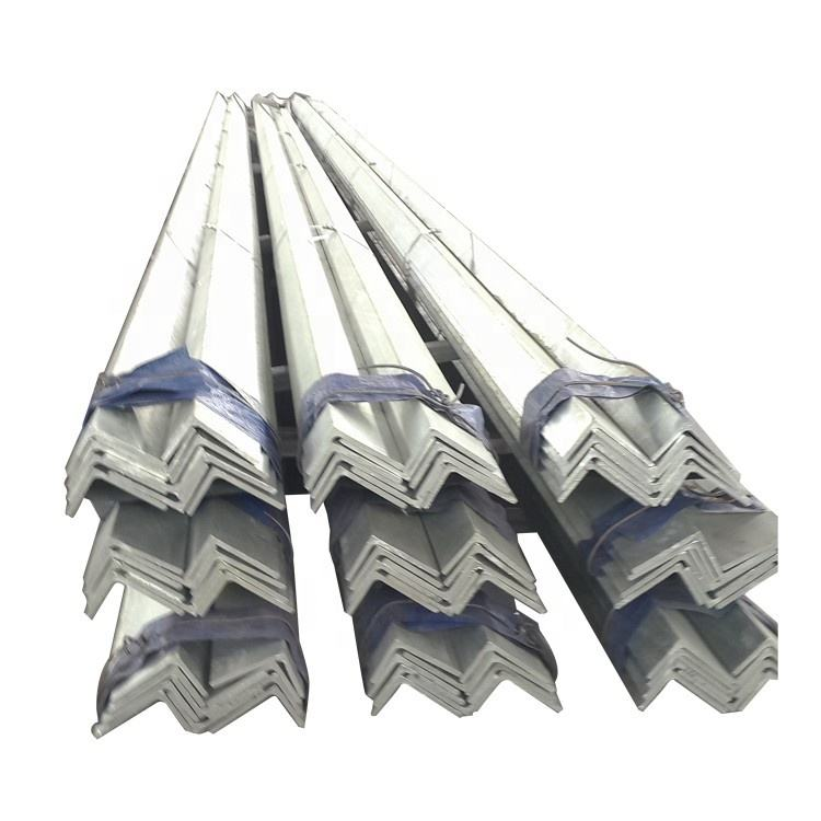 punched galvanised hot dipped gi galvanized angle iron ms uk price kenya one piece angle steel bar