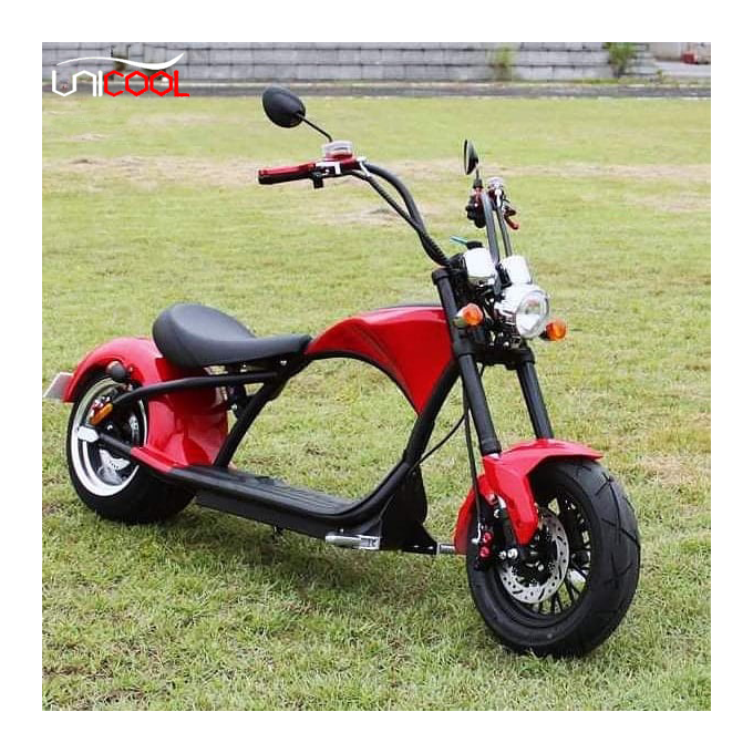 Unicool electric motorcicle/citycoco europe warehouse 1500w 2000w retro adult cheap best fast electric motorcycles with eec coc