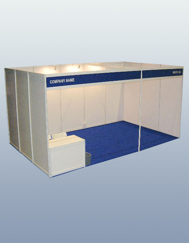 3x3M Standard Booth For Exhibition Expo Hall,Modular Shell Scheme Stand,R8 System Aluminium Booth Supplier/Factory In China