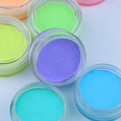 Private Label 3g UV Face Paint Cake Waterbased Pastel Neon Face Paint Eyeliner