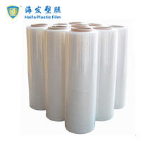 Manufacture Plastic PE Transparent Cling Wrap Film with Various Adhesion