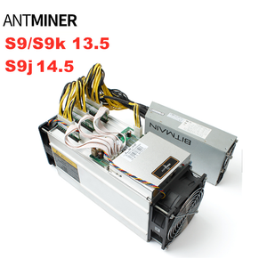 The most profit Antminer S9 Bitcoin Miner S9j14.5T Bitcoin with Power Supply in stock