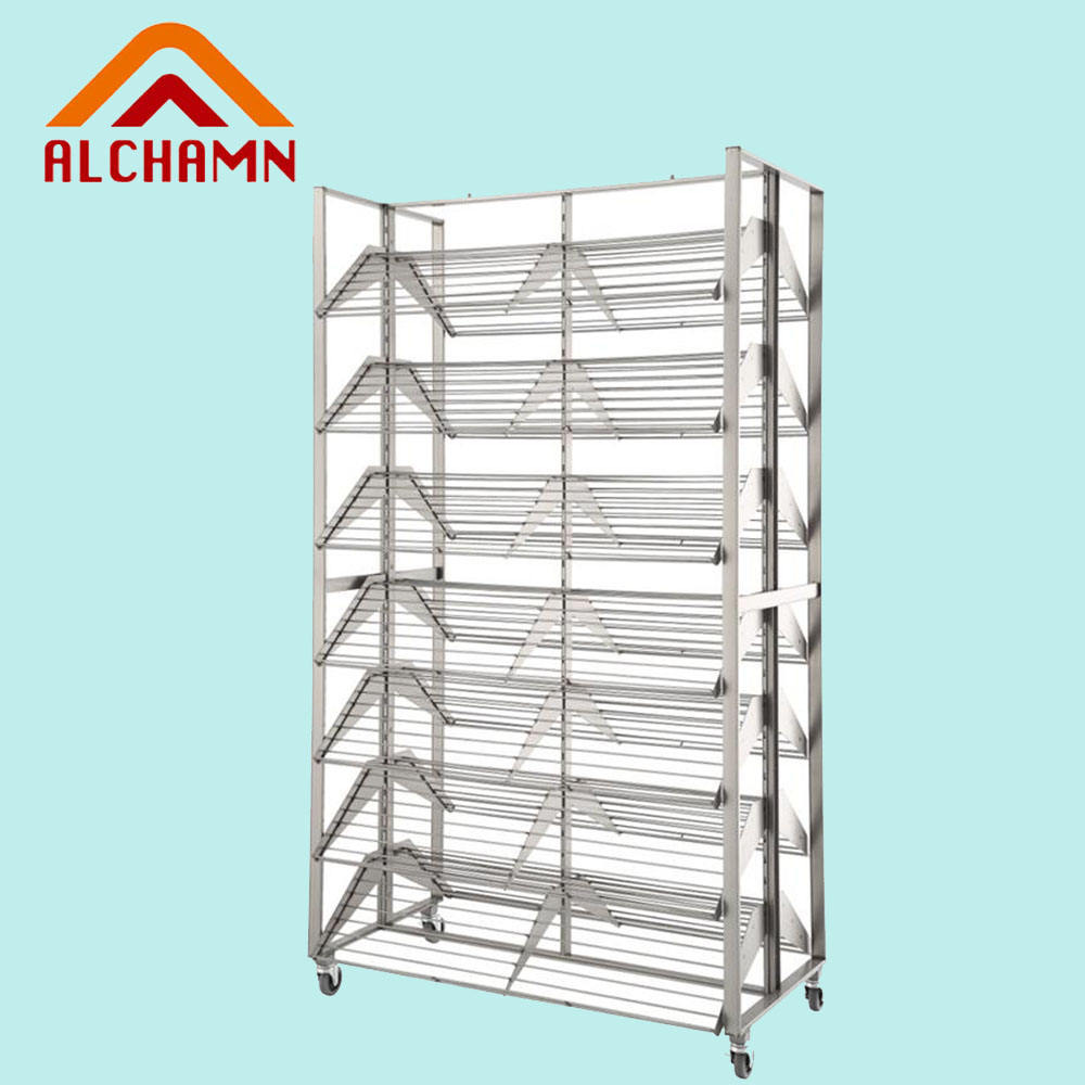 Retail store furniture display stands shoe rack