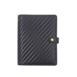 Promotion A5 black daily magnetic weekly planner for personal or office