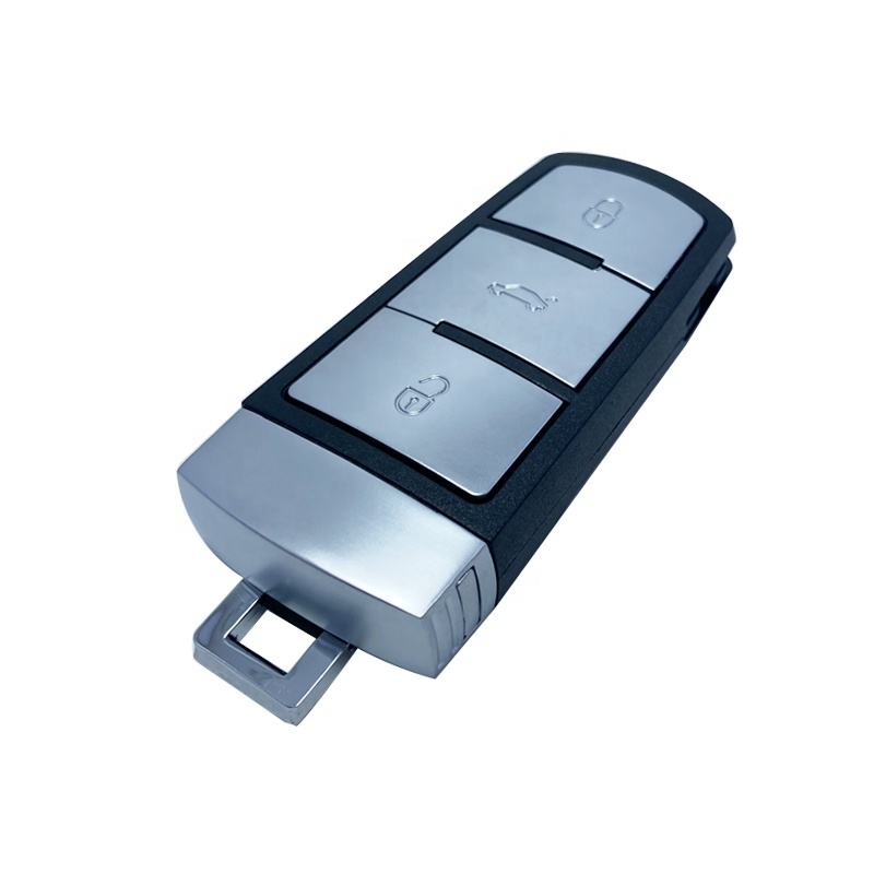 P/N: 3C0959752BG ID46 pcf7946 chip 433 MHz Passat CC 3 button remote smart key for vw