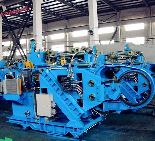 2020 China manufacturer automatic rebar/hollow section/H beam tying/ binding machine for sales