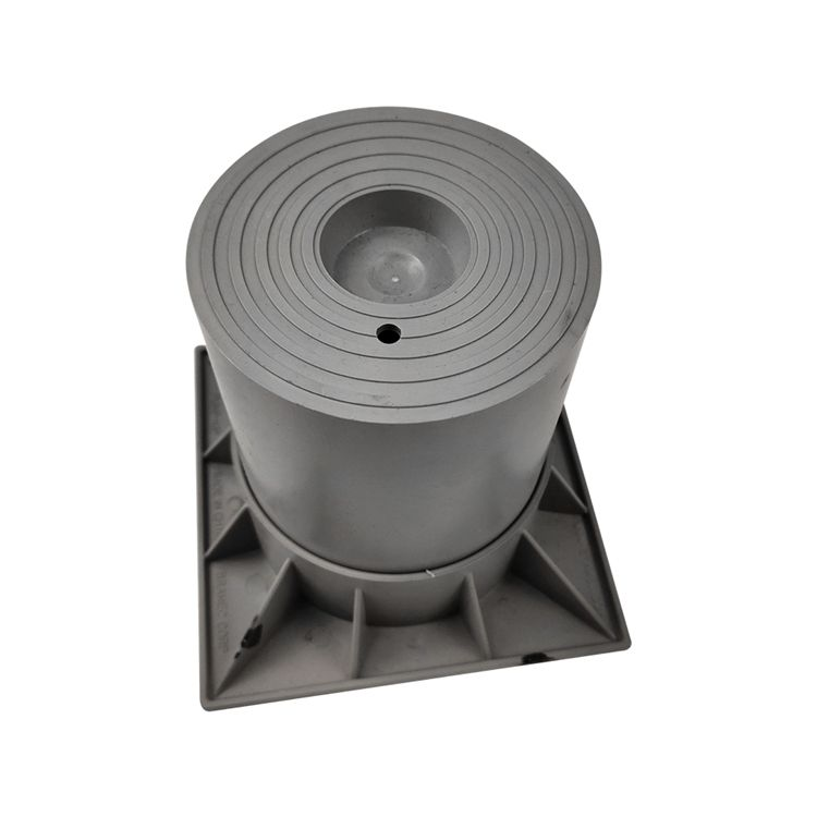 "Factory Manufacture 6"" Gray Two Piece Condenser Risers, for Use with Condensers, Heat Pumps"