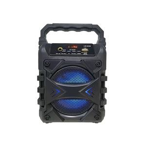 New style KTS creative outdoor portable wireless microphone mini plastic speaker speaker bluetooth speaker box