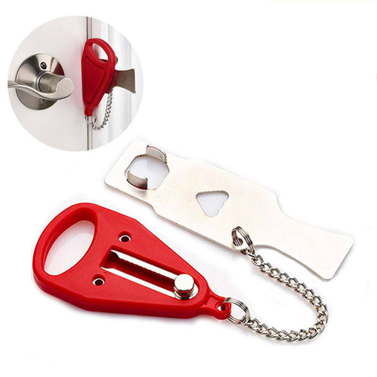 New Portable Security Door Lock Travel Guard Hotel School DIY Privacy Lock Stopper Home Lock