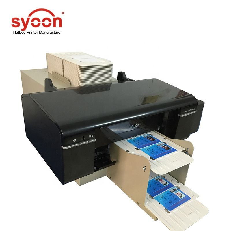 2019 Automatic Industri CD DVD PVC Printing Printer untuk Epson L800 Inkjet Printer