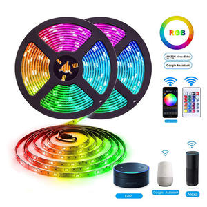 Amazon Alexa Google Home Tuya Wifi IP65 Flexibele Waterdichte Led Strip Licht Bluetooth Strip Led Licht Rgb