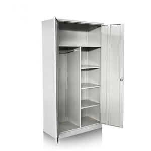 Mail Packing Steel Locker Cabinet Cupboard With Metal Frame Lockable Simple Smart Lock