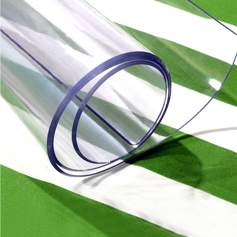 China wholesale 0.5mm 1mm 2mm 3mm Clear soft flexible Transparent PVC soft plastic sheet Roll Fill
