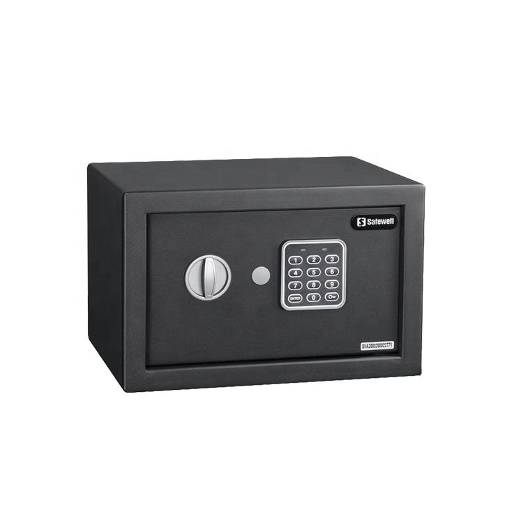 Safewell 20NF BSCI factory 200mm height portable electronic money small safety box security digital home safe