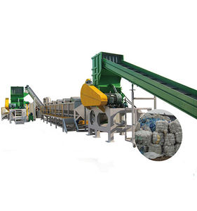 plastic washing recycling line for PET bottle
