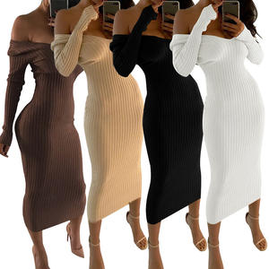 fall clothing for women mini night sweater fashion ladies muslim bodycon dress club girls casual dresses