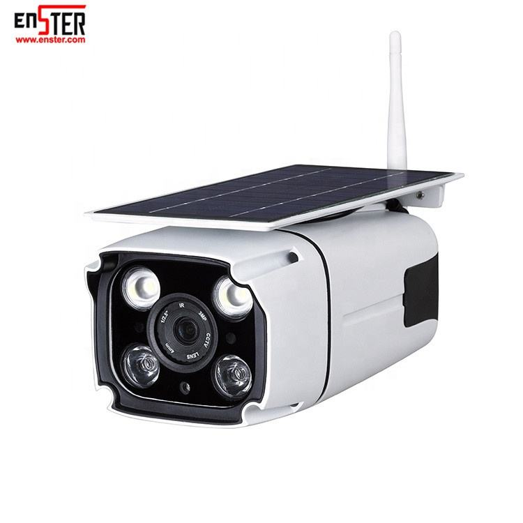 Outdoor IP67 Wireless 1080P IP Security Surveillance Solar Powered Wifi CCTV Camera Factory