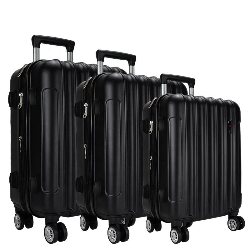 2020 fashion rolling luggage suitcase abs luggage set 4 wheel travel luggage bag