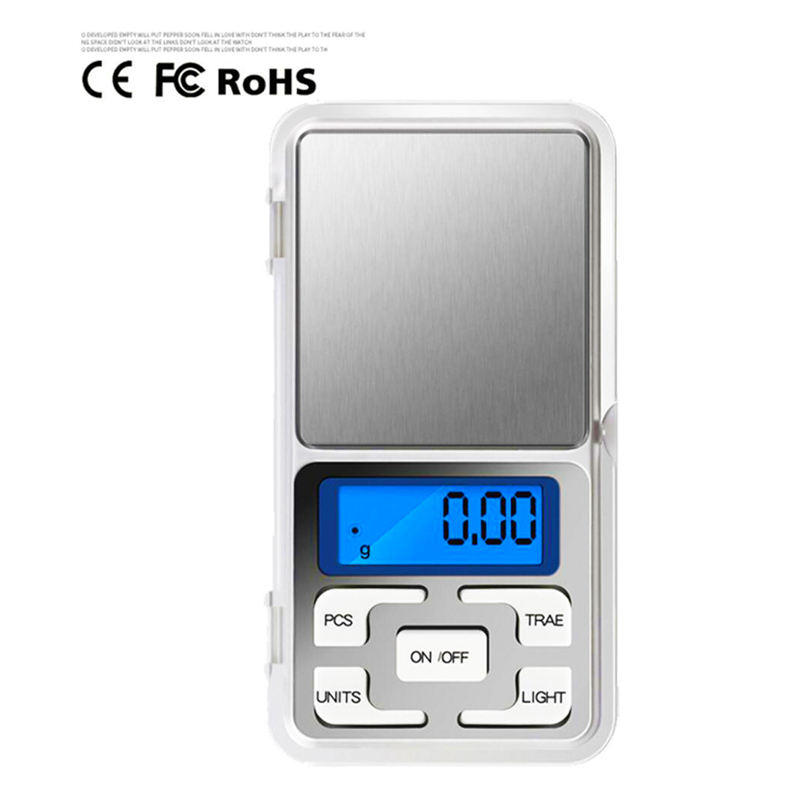 Low Moq 500g / 0.1g High Accuracy Pocket Scale Mini Portable Digital Electronic Diamond Jewelry Scale Weigh Balance