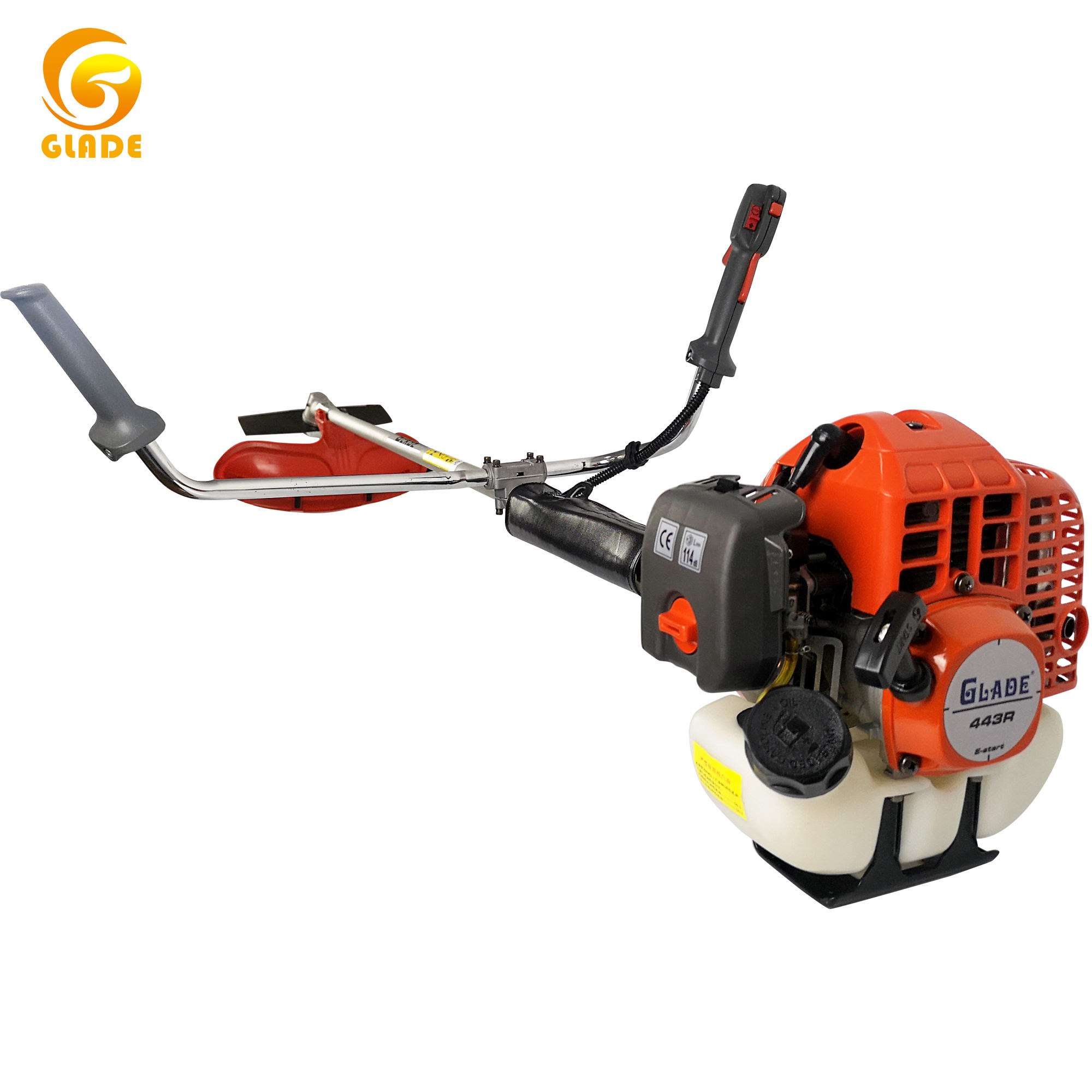 gasoline 43cccc brush cutter garden used brush cutters grass trimmer thread grass cutter