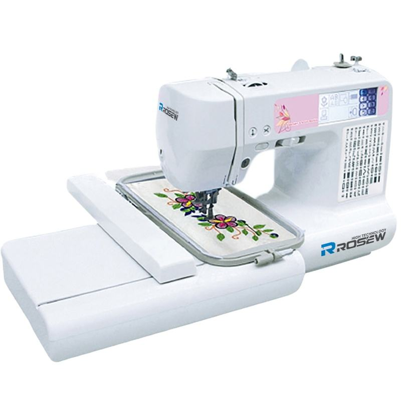 ROSEW RS-890 hot sale Domestic computerized sewing machine embroidery machine