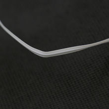 High quality full plastic PE material nose wire/bridge for surgical mask