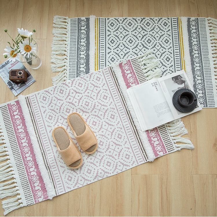 living room household cheap price carpets printed floor mat