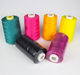 Dyed 40/2 Hilo de Coser spun polyester thread wholesale sewing thread manufacturer