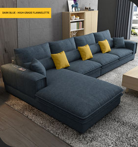 Wholesale factory new l shaped modern simple furniture set design large sofa sectional combination sofa for living room