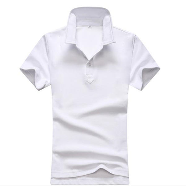 High Quality Logo Cheap OEM Promotional Clothing 65polyester 35 Cotton Plus Size Custom polo T shirt