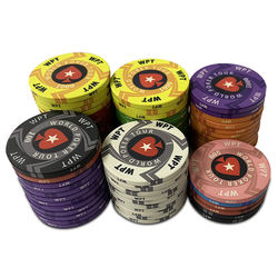 10g ceramic chips Texas Baccarat Black Jack chip set Custom Poker Chips for Poker Club