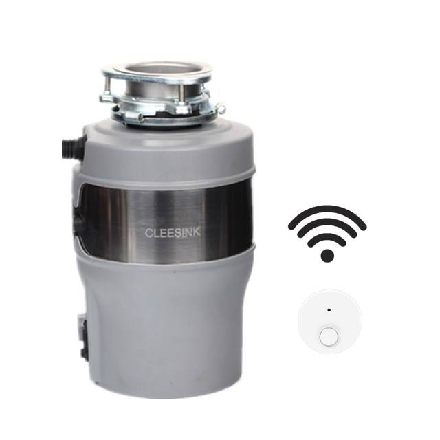 Auto reverse kitchen sink waste crusher food waste grinder garbage disposal with remote control JS560-D