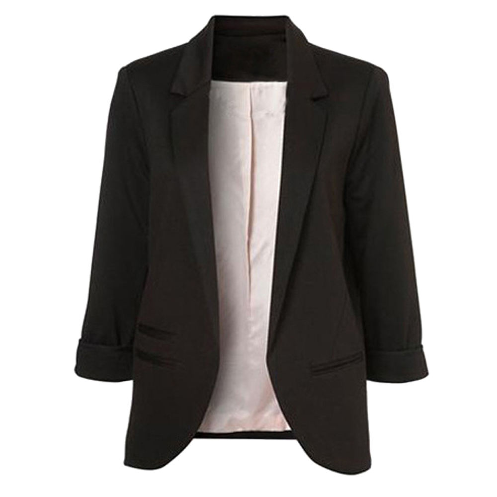 Multiple Colors Available Latest Three Quarter Blazers Ladies Women