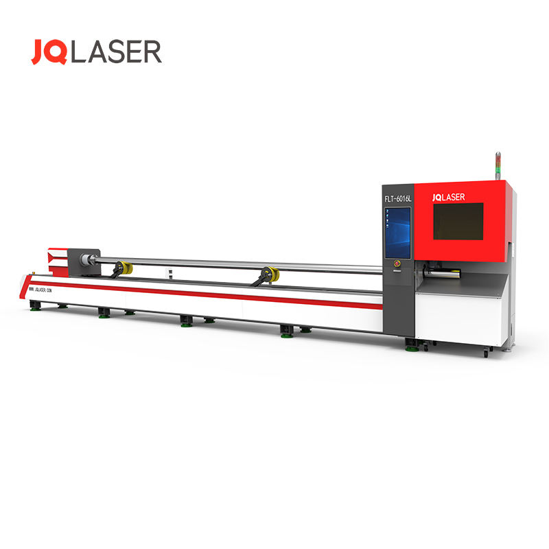 JQ Laser 6016L laser tube/pipe laser cutting machine with shortest tailing