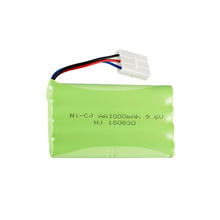 9.6V 1000mAh aa ni-cd rechargeable battery pack MZ 2050 2054 2060 2053 2020 RC car 3PIN Hollow Socket 3P soild needel mouth