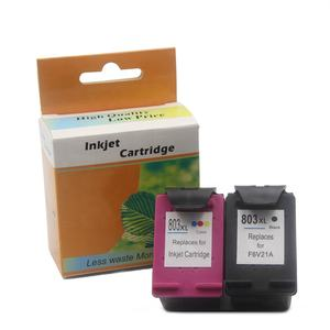 Ocbestjet untuk HP 803 Ink Cartridge Hp Deskjet 1510 1111 1112 2131 2132 Printer