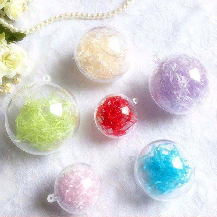 All new material plastic DIY hanging plastic gift placing lollipop packing ball