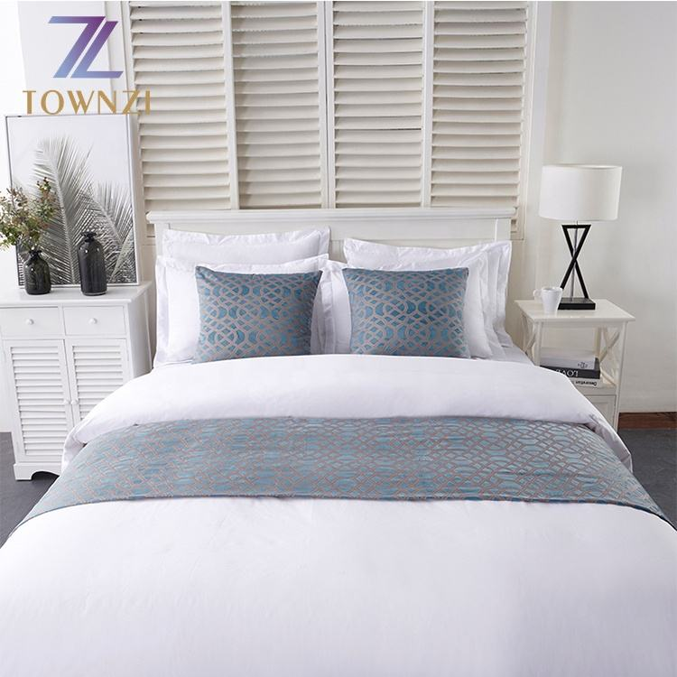 New Arrival Hot Sale High Quality cotton Handmade Jacquard Hotel King Size Bedding