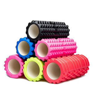 33cm Eco-friendly EVA Hollow Yoga Column Muscle Tissue Massager Massage Stick Pilates Fitness Exercise Foam Roller