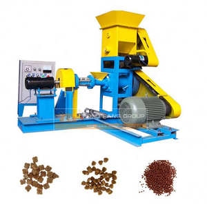 Factory Price Floating Fish Feed Pellet Making Extruder Machine