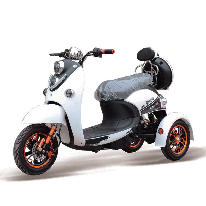 3 wheel electric motorcycle adult pedal car for sale