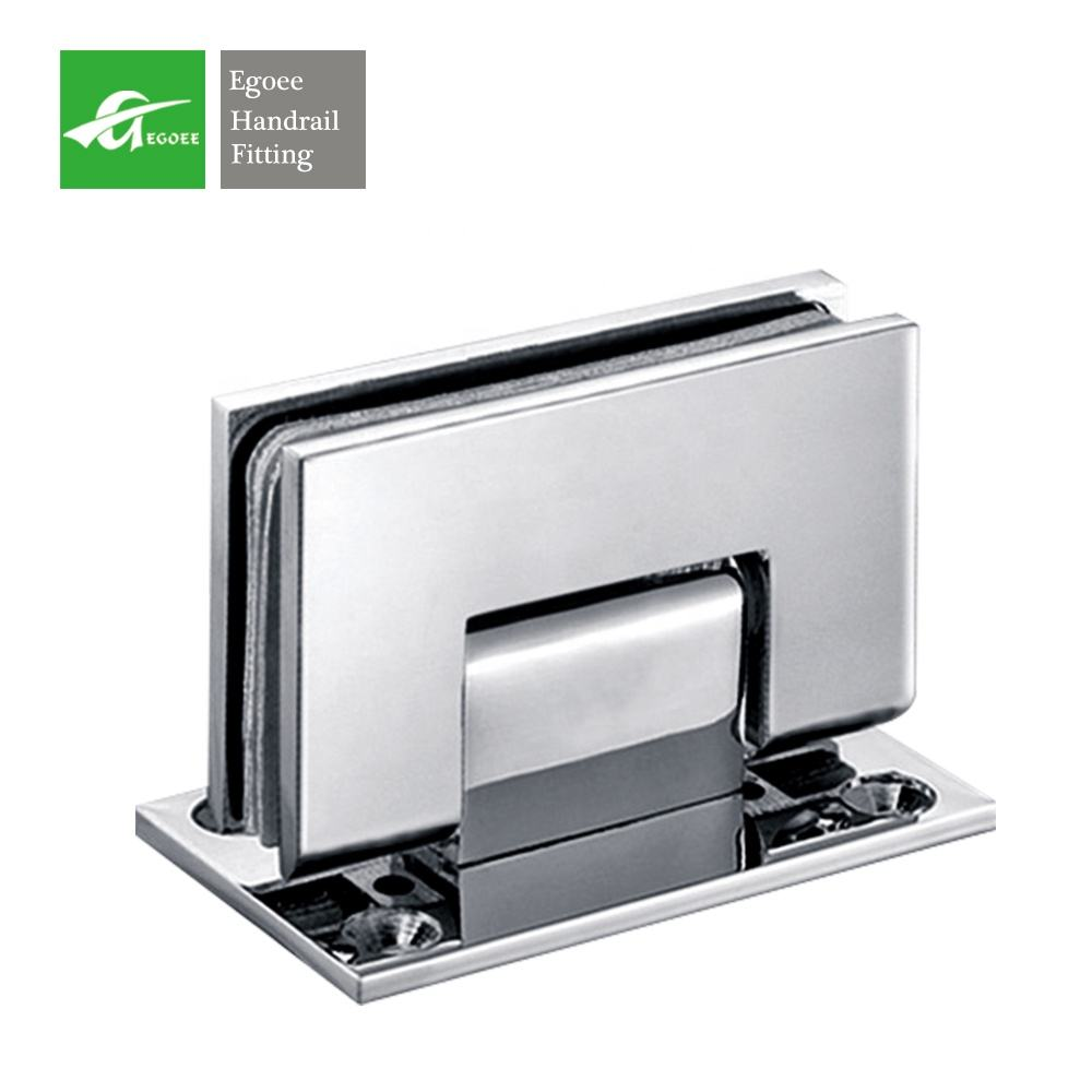 rustproof stainless steel door hinge /adjust glass shower mirror door pivot hinge for door