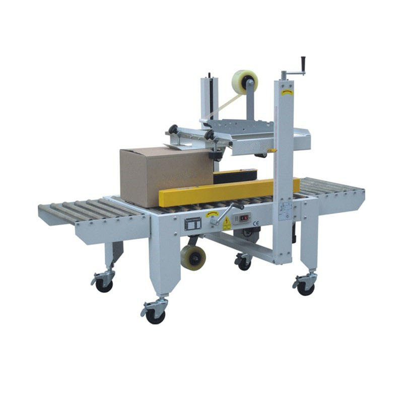 Chinese manufacturer carton box sealing machine/automatic carton packing machine with CE certification