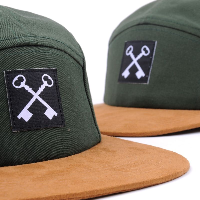 Minimal Order <span class=keywords><strong>Kecil</strong></span> Applique Suede Brim 5 Panel <span class=keywords><strong>Topi</strong></span>