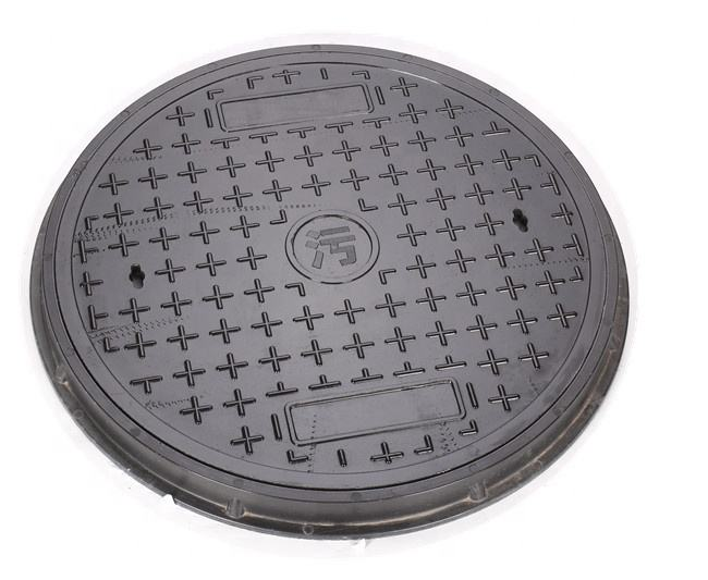 Round manhole covers and frame d-400 with excellent non-conducting