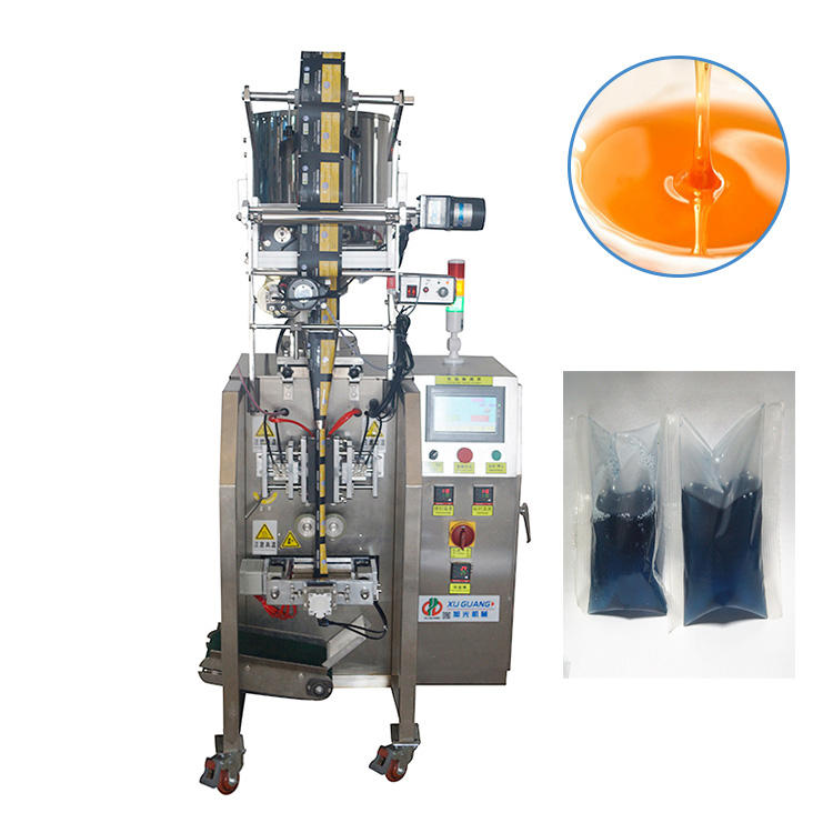 fully trilateral seal/ back seal liquid filling drinking pure water sachet vertical with liquid pump packing machine