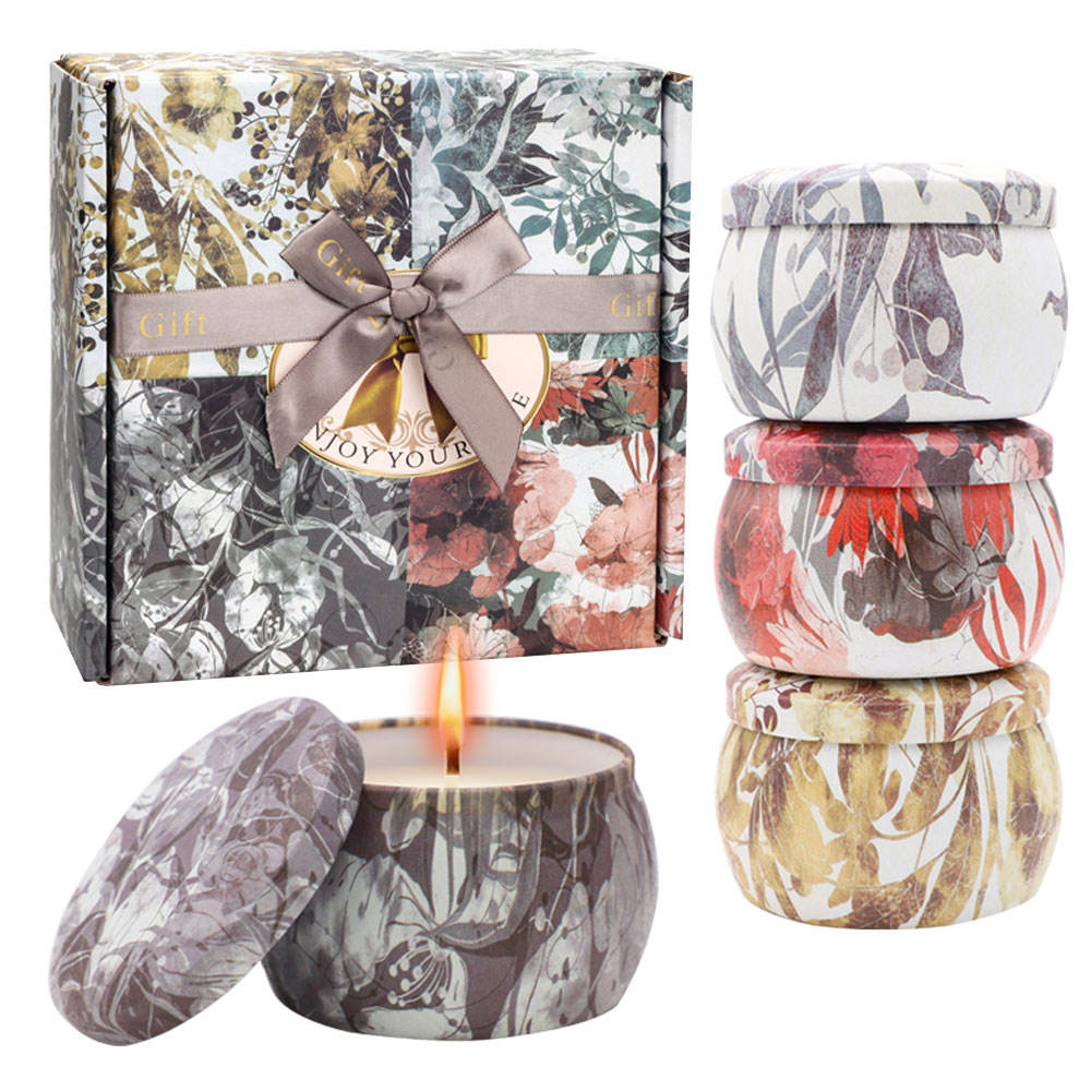 Kaars Maken Levert Fabrikant Unieke Kaars Potten Metalen Tin Private Label Soja <span class=keywords><strong>Wax</strong></span> Scented Decoratieve Aromatherapie Kaarsen