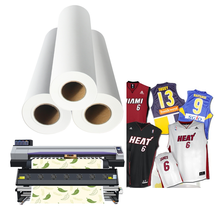 Quick dry roll dye sublimation heat transfer paper for light fabric transfer printing